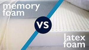vs memory foam sleepopolis