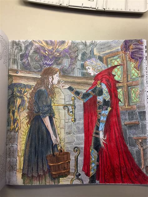 watercolorbookworm  page   throne  glass
