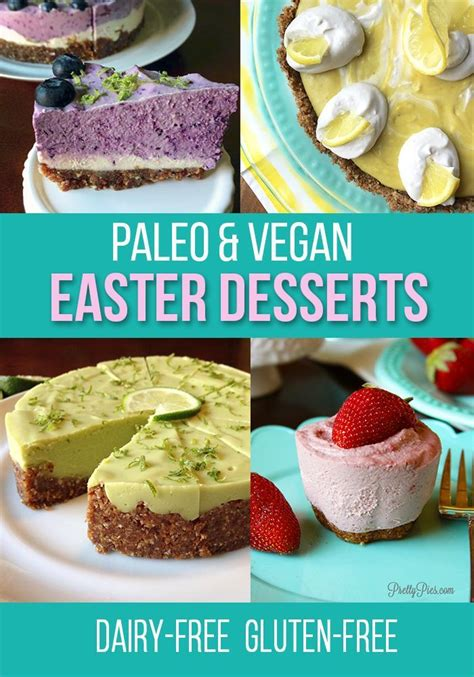 Their easter range will be released soon and the products always look beautiful too. Dairy-Free/Gluten-Free Easter Dessert Picks from