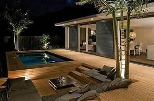 Terrasse En Bois Ou Composite  Une Terrasse Moderne