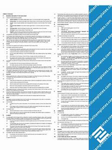 procurement civil engineering templates With vendor terms and conditions template
