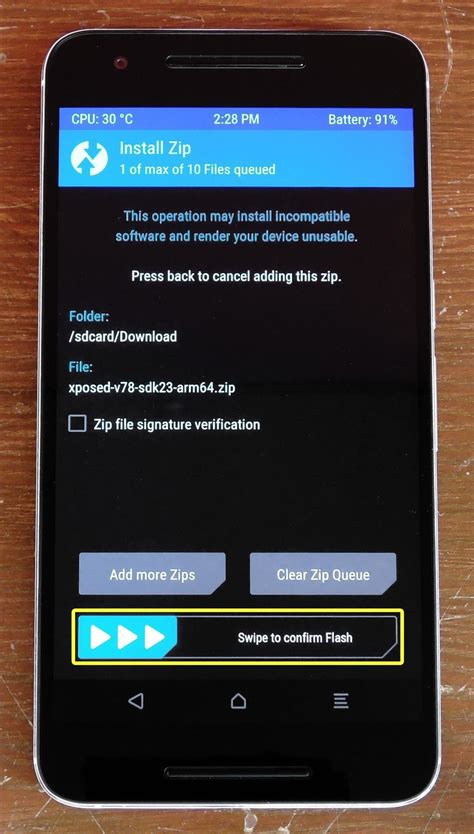 xposed installer android how to install the xposed framework on android 6 0
