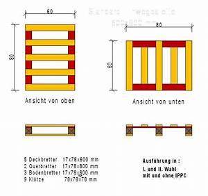 Maße Einer Europalette : palette verpackung ippc aus th ringen von der firma ihp paletten und verpackungen einwegpaletten ~ Orissabook.com Haus und Dekorationen