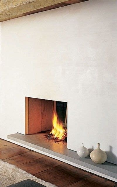 stucco fireplace ideas  pinterest simple fireplace open fireplace  cottage