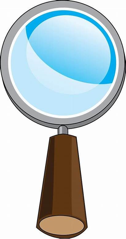Glass Clipart Magnifying Detective Science Clip Transparent