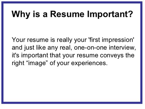 What Is Important To In A Resume by Creating A Marketable Resume