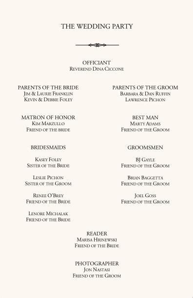 wedding program template sand ceremony wedding programs wedding program wording program sles