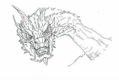 Smaug Dragon Coloring Pages Terrible