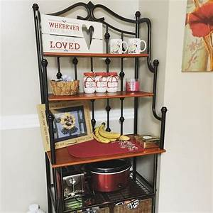 Bakers Rack For Small Kitchen Cosmecol