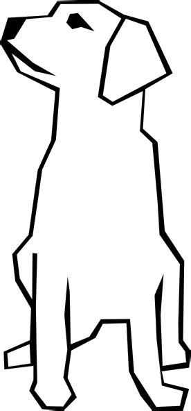 dog simple drawing clip art  clkercom vector clip art