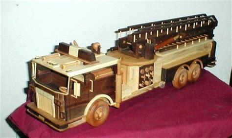 woodwork wood fire truck plans  plans