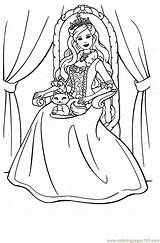 Princess Printable Barbie Colouring Coloring Pages Printables Disney Coloringpages101 Sheets Easter Books Pauper Colors Cinco Mayo Cartoon Popular Hobbit Fun sketch template