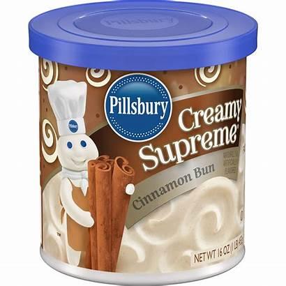Pillsbury Frosting Cinnamon Supreme Creamy Bun Walmart