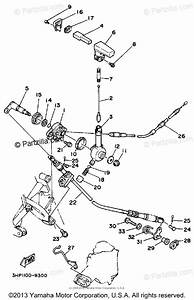 Yamaha Atv 1989 Oem Parts Diagram For Reverse Lever