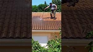 Nettoyage Toiture Karcher : nettoyage toiture avec karcher basse pression youtube ~ Dallasstarsshop.com Idées de Décoration