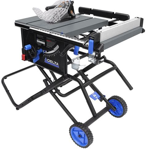 best portable table saw 2017 new delta portable table saw with stand 6000 series