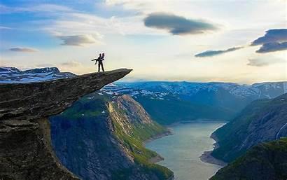Norway Mountain Trolltunga Wallpapers River Amazing Extreme