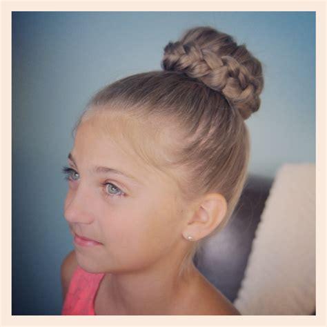 lace braided bun cute updo hairstyles cute girls