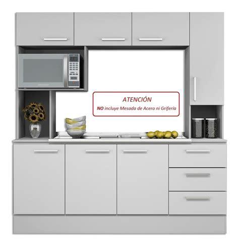 Mueble Alacena Kit De Cocina Compacta Gran Capacidad