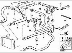 Original Parts for E36 320i M50 Sedan Engine Cooling