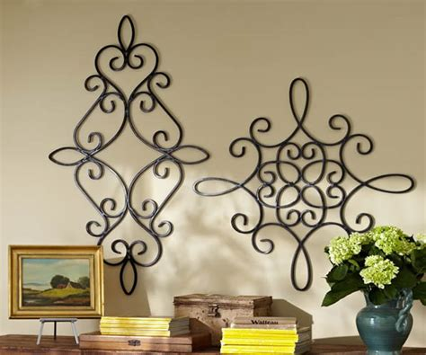 Pottery Barn Metal Wall Decor by Wrought Iron Wall Decor
