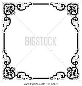 Elegant Scroll Borders and Frames