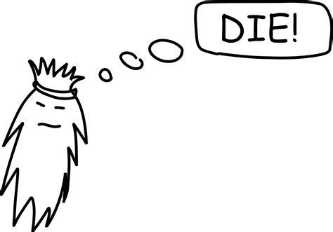 Clipart - Die!
