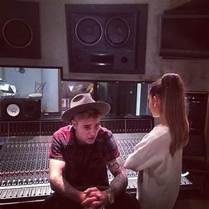 Justin Bieber wants Ariana Grande duet after Nathan Sykes ...