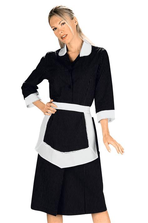 blouse femme de chambre blouse femme de chambre et tablier noir et blanc 100 coton