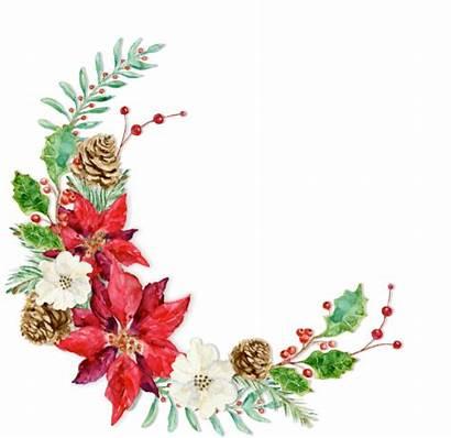 Wreath Floral Square Zazzle Winter Invitations Watercolor