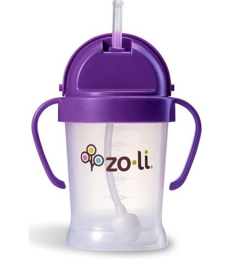 Zoli Straw Sippy Cup Bot 6oz zoli bot 6 oz straw sippy cup purple