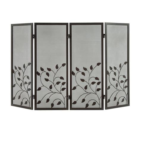 fireplace screens walmart vintage home decoration with botanical decorative