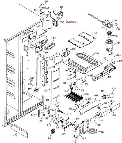 whirlpool refrigerator parts diagram wiring diagram and fuse box diagram