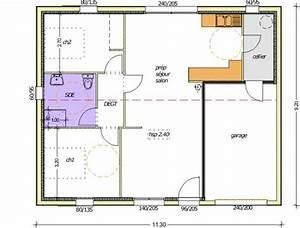 plan maison 70m2 3 chambres With plan maison 3 chambre
