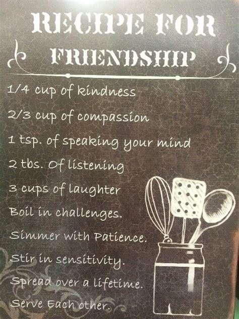 recipe  friendship friends  gifts  god