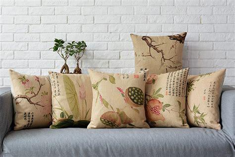 Small Decorative Pillows by Modern Minimalist Burlap Cushion Cover Small Fresh