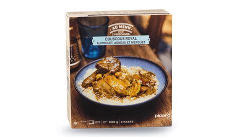 plat cuisiné picard couscous royal surgelés les plats cuisinés picard