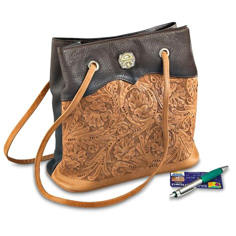 Cowhide Leather Purses by Montana Silversmiths 174 Leather And Cowhide Purse 137495