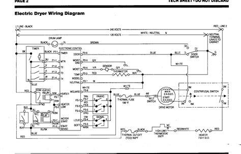 dryer wiring diagram schematic 8 year kenmore drier will not heat