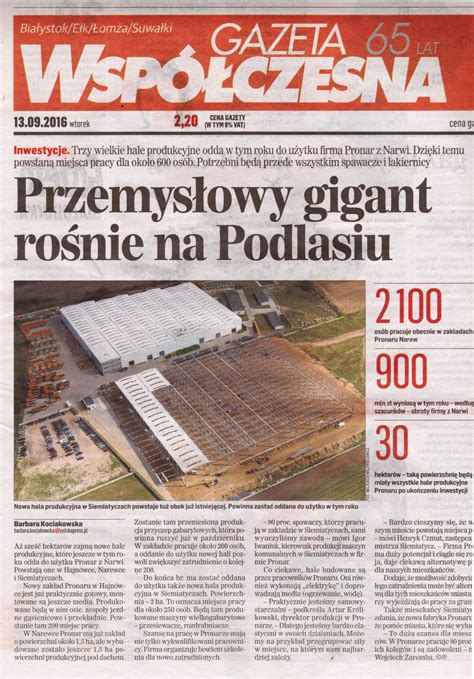 gazeta-wspolczesna-przemyslowy-gigant - Pronar Sp. z o.o.