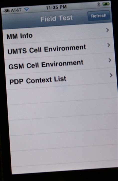 iphone field test mode how to put apple iphone into cellular phone field test mode
