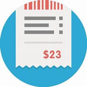 Bill, receipt icon | Icon search engine