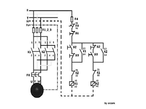 motor listrik 3 fasa putar kanan kiri ryo elektro