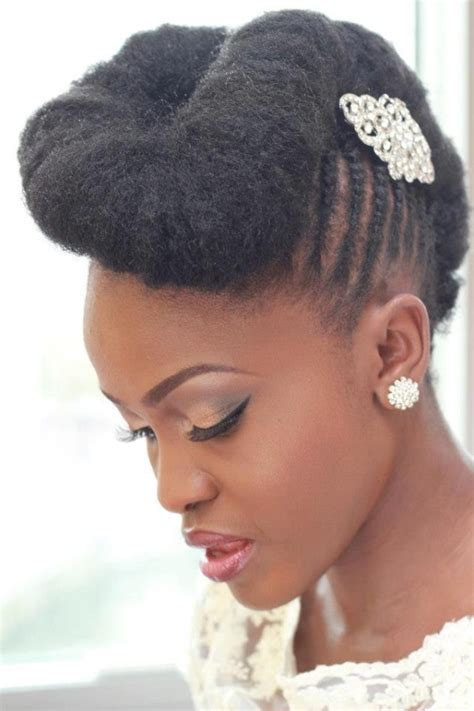 natural black wedding hairstyles   offbeat