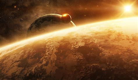 planet space sun full hd wallpaper