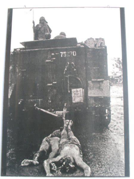 war remnants museum photo americans dragging dead