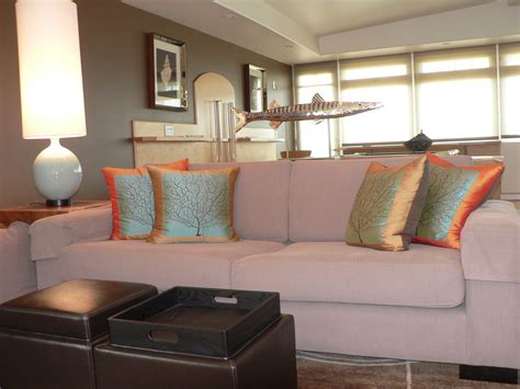 Living Room Pillows Ideas by Surprising Coral Pillows Decorative Decorating Ideas