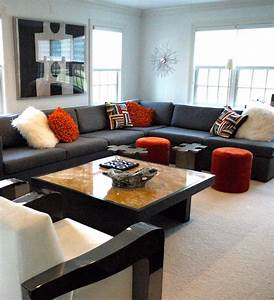 cool large sectional sofas decorating ideas With sectional sofa for large room