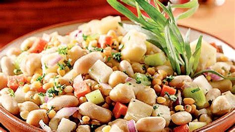 cuisiner haricots blancs salade de légumineuses