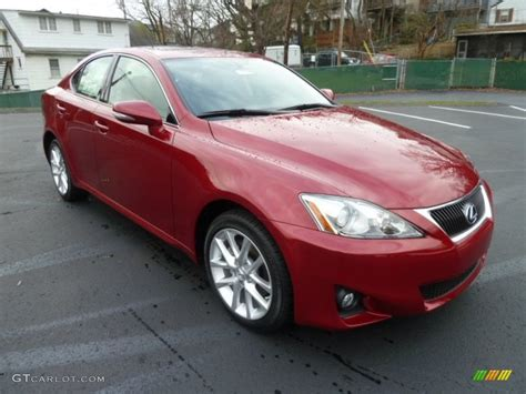 red lexus is 250 2006 matador red mica 2012 lexus is 250 awd exterior photo